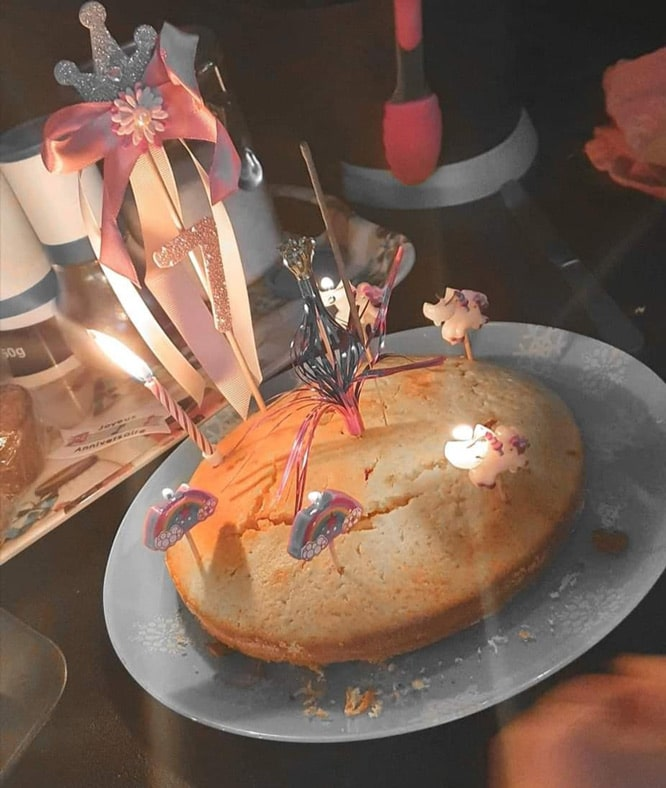 Gâteau anniversaire Cook & Box