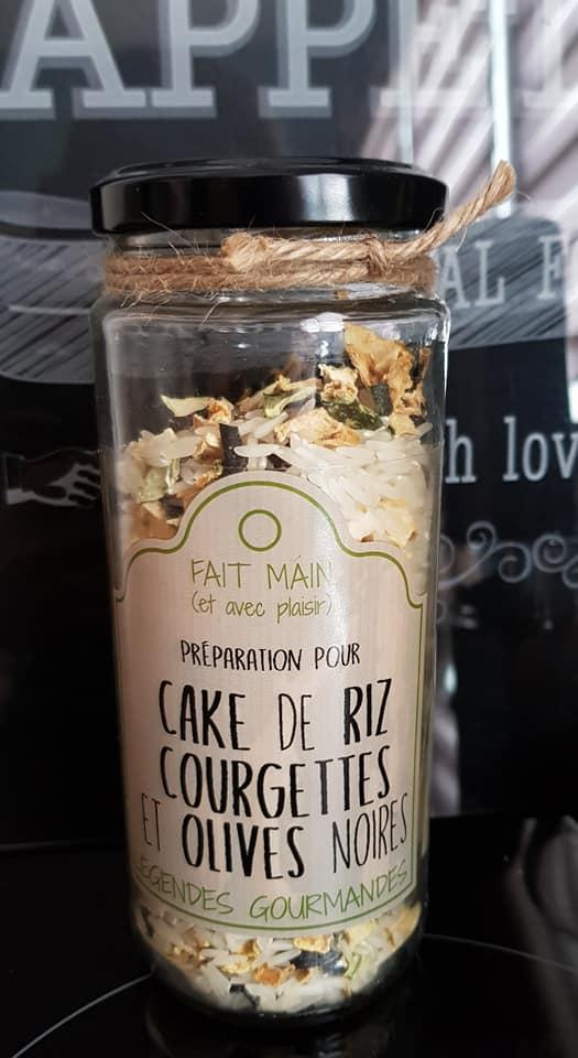 Cake de riz courgettes