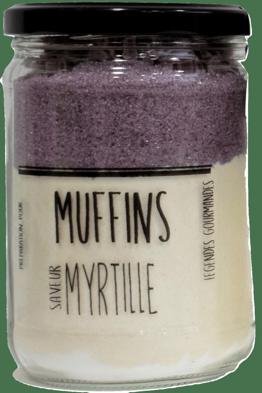 Muffin aux myrtilles