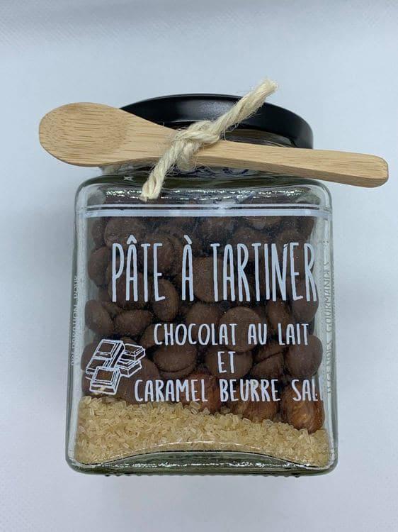 Pâte à tartiner Chocolat au lait et caramel au beurre salé